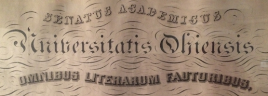 From an 1860 Ohio University diploma.