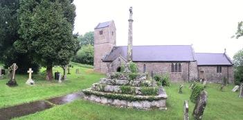 Churchyard of St Thomas a Becket, Wolvesnewton, Monmouthshire